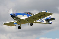 G-JFRV @ EGBR - Vans RV-7A at Breighton Airfield's Summer Fly-In, August 2011. - by Malcolm Clarke