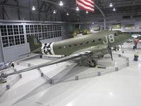 N1944A @ KOSH - Kermit Weeks Combat veteran C-47 safe in the EAA Museum Hangar @KOSH after it's trans Atlantic flight - by steveowen