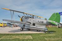 N63850 @ OSH - 1939 Grumman J2F4, ex Bu1649 at 2011 Oshkosh - by Terry Fletcher