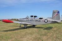 N134BD @ OSH - 1956 Beech T-34B, c/n: BG-165 ex Bu140831 at 2011 Oshkosh
