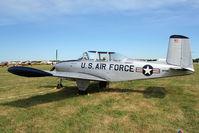 N234RJ @ OSH - 1955 Beech A45, c/n: G-773 ex USAF 55-216 at 2011 Oshkosh