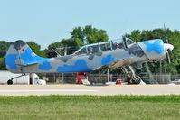 N343DC @ OSH - 2004 S C Aerostar S A YAK-52TW, c/n: 0412508 at 2011 Oshkosh