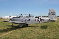 N638TD @ OSH - 1953 Beech A45, c/n: G-286 ex USAF 53-4186 at 2011 Oshkosh