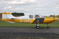 G-AXEV @ EGBR - Beagle B-121 Pup 150 at Breighton Airfield's Summer Fly-In, August 2011. - by Malcolm Clarke