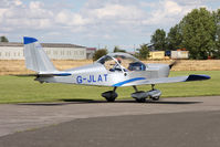 G-JLAT @ EGBR - Aerotechnik EV-97 Eurostar at Breighton Airfield's Summer Fly-In, August 2011. - by Malcolm Clarke