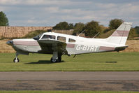 G-BTRT @ EGBR - Piper PA-28R-200 Cherokee Arrow at Breighton Airfield's Summer Fly-In, August 2011. - by Malcolm Clarke