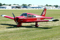 N4114J @ OSH - 1966 Piper PA-28-140, c/n: 28-22430 at 2011 Oshkosh