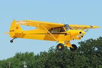 N4148E @ OSH - 1978 Piper PA-18-150, c/n: 18-7809087 at 2011 Oshkosh