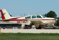 N6745T @ OSH - 1980 Beech F33A, c/n: CE-902 at 2011 Oshkosh