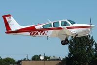 N6675L @ OSH - 1979 Beech F33A, c/n: CE-882 at 2011 Oshkosh