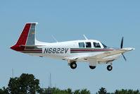 N6822V @ OSH - 1971 Aerostar Acft Corp Of Texas M20F, c/n: 22-0007 at 2011 Oshkosh
