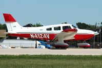 N4124V @ OSH - 1998 Piper PA-28-181, c/n: 2843155 at 2011 Oshkosh