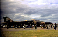 68-0003 @ EGWZ - Another view of this 55th Tactical Fighter Squadron/20th Tactical Fighter Wing F-111E from RAF Upper Heyford on display at the 1975 RAF Alconbury Airshow. - by Peter Nicholson