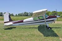 N2267G @ OSH - 1958 Cessna 182B, c/n: 51567 at 2011 Oshkosh