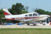 N2182Q @ OSH - 1979 Piper PA-28-181, c/n: 28-7990297 at 2011 Oshkosh