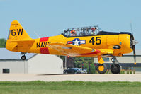 N545GW @ OSH - 1942 North American/whiteford G A NA AT 6/SNJ, c/n: 42-17575 at 2011 Oshkosh