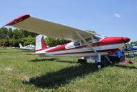 N4678B @ OSH - 1955 Cessna 180, c/n: 31576 at 2011 Oshkosh