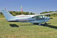 N8857X @ OSH - 1961 Cessna 182D, c/n: 18253257 at 2011 Oshkosh