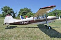 N4447B @ OSH - 1955 Cessna 170B, c/n: 26791 at 2011 Oshkosh
