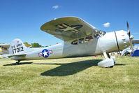 N1ZB @ OSH - Cessna LC-126C, c/n: 7855 at 2011 Oshkosh