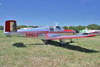 N8511A @ OSH - 1949 Beech A35, c/n: D-1933 at 2011 Oshkosh