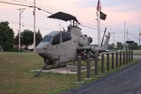 67-15683 - AH-1F in front of AmVets Post 1986 Sidney Ohio