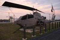 67-15683 - AH-1F in front of Amvets 1986 Sidney Ohio