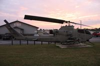 67-15683 - AH-1F in front of Amvets 1986 Sidney OH
