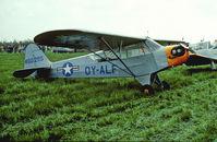 OY-ALF @ EKSP - Air Base Skrydstrup 29.5.83 - by leo larsen
