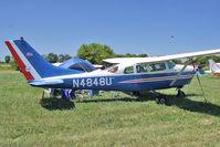 N4848U @ OSH - 1964 Cessna 210-5A, c/n: 205-0548 at 2011 Oshkosh