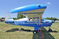N2172A @ OSH - 1952 Piper PA-22, c/n: 22-589 at 2011 Oshkosh