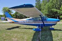 N8575T @ OSH - 1959 Cessna 182, c/n: 52475 at 2011 Oshkosh