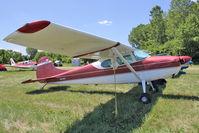 N3055A @ OSH - 1953 Cessna 170B, c/n: 25699