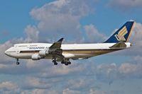 9V-SPJ @ EDDF - Boeing 747-412, - by Jerzy Maciaszek