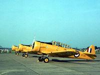 KF314 - Harvard IIB of Boscombe Down's Aeroplane & Armament Experimental Establishment (A&AEE) on display at the 1978 Bassingbourn Airshow. - by Peter Nicholson