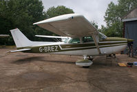 G-BREZ @ EGSN - Parked - by N-A-S