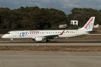 EC-LFZ @ LEPA - taxying to the active
