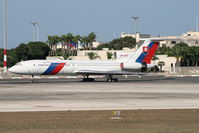 OM-BYO @ LMML - Aircraft brought Slovak delegation to Malta - by Julian Chetcuti