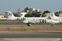 D-CUNO @ LMML - Aircraft operated by United Nations - by Julian Chetcuti