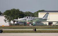 N2696P @ LAL - Cessna 340A