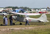 N5073Y @ LAL - Cessna L-19 with wingtip damage from severe storm on March 31, 2011