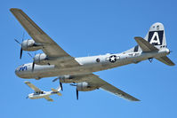 N529B @ OSH - At 2011 Oshkosh - the only serviceable B-29 left flying
