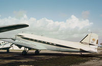 N139HH @ KFLL - Douglas DC-3C as seen at Fort Lauderdale in November 1979. - by Peter Nicholson
