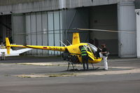 D-HALW @ EDKB - Air Lloyd, Robinson R22 Beta II, CN: 3316 - by Air-Micha