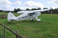 G-PAXX @ EGHP - Piper PA-20-135 Pacer at Popham Ex N135XX - by moxy