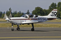 N123AJ @ PAE - At Paine Field - by David Schultz