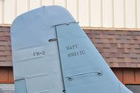 N551TC @ OSH - Tail of Grumman FM-2