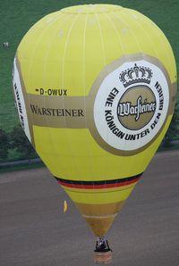 D-OWUX - WIM 2011 Warsteiner - by ghans