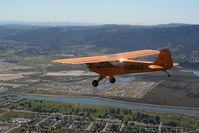N360AZ @ CA89 - Passing over Lake Elsinore