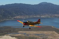 N911J @ CA89 - Over Lake Elsinore
